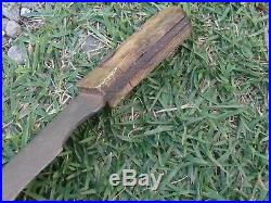 American Antique Guardless Coffin Hilt Bowie/Fighting knife 1830's 1860's