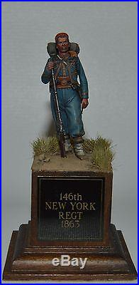 American Civil War 146th New York Regiment 1863 Painted by Mour Patti