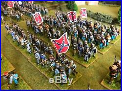 American Civil War ACW 28mm Perry Miniatures Confederate Army 500+ figures