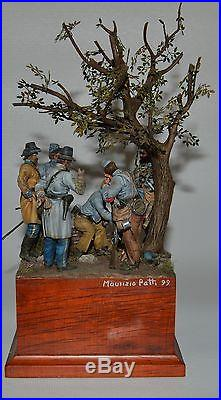 American Civil War Emblems of Valor 49th Georgia 1864 Painted by Mour Patti