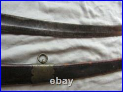 American Eagle Headed Mounted Officers Saber, Engraved Blade, Mexican-civil Wars