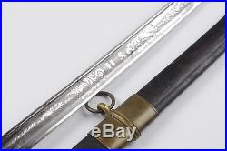 Antique American M1850 Officers Staff & Field Sword Saber