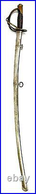 Antique Civil War Sword M1860 Cavalry C. Roby, Dated 1863 American US Saber