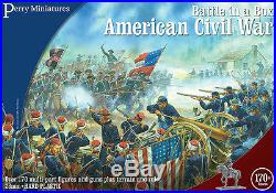 Battle in a Box American Civil War 28mm figures x170 Perry BB1