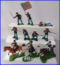 Britains 7455 Boxed Set Eyes Right Swoppets Union Soldiers AMERICAN CIVIL WAR
