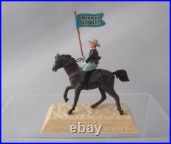 Britains 7TH Cavalry Swoppets ACW American Express Bank Advertising 54mm Figure