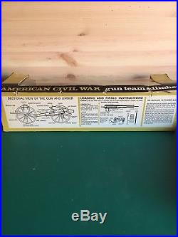 Britains Acw Confederate Gun Limber Complete And Boxed Vgc