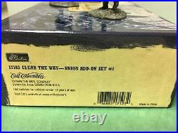 Britains American Civil War Clear The Way Set 17017 + 2 Add-on Sets 17103