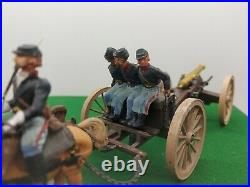 Britains American Civil War Gun Team and Limber Union Set complete unboxed