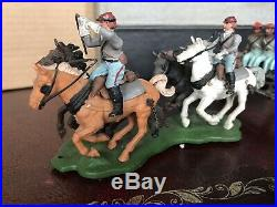 Britains Confederate ACW Gun And Limber Set In Very Good Condition