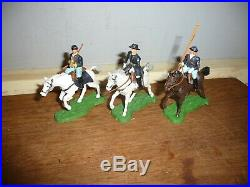 Britains Eyes Right ACW / Britains Swoppets ACW Union Gun Limber Team and others