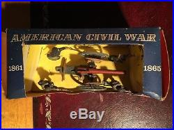 Britains Herald ACW Federal Forces With Gun 4464 In Very Good Condition