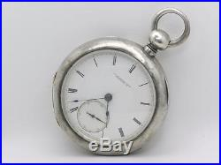 CIVIL War 1863 American Waltham Appleton Tracy Watch, Private Label, Coin Case