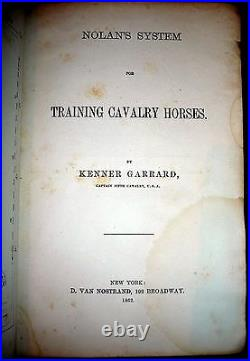 Cavalry Horses Training, Civil War Court Martialled Officer, Lincoln Association