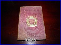 Civil War Soldiers Hymn Book American Tract Society 1861