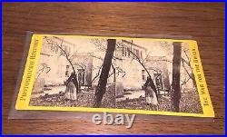 Civil War for the Union Stereoview African American #2300 Slave Pen