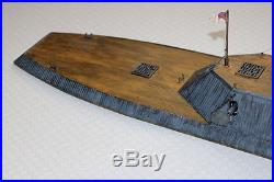 Confederate ironclad Albemarle in scale 172 (20mm)