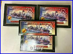 Conte Rolling Thunder ACW Confederate Artillery All 4 sets