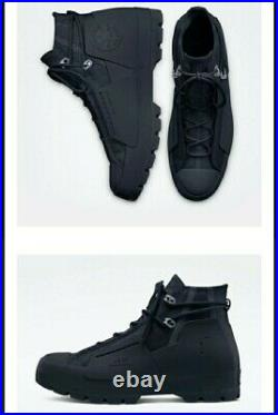 Converse Chuck Taylor All-Star Lugged Hi A-COLD-WALL UK 7 ACW Black Brand New