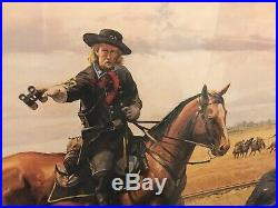 Custer at Hanover by Dale Gallon Limited Edition Print American Civil War Battle