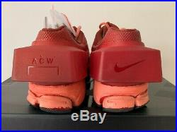 Ds Brand New Nike X A-cold-wall Acw Vomero +5 Redox Red Crimson Resin Sz 12