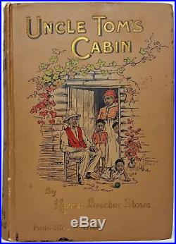 FIRST EDITION Black Slavery UNCLE TOM'S CABIN Civil War ABOLITION American
