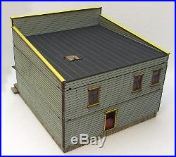 FIRST NATIONAL BANK FULLY BUILT (as seen) 28mm WILD WEST / ACW MDF BUILDING