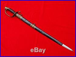 Fine Quality American CIVIL War M1850 Foot Officers Sword Decorated Blade 1850