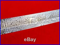 Fine Quality American CIVIL War M1850 Foot Officers Sword Magnificent Blade 1850