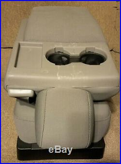 Ford 2016 F150 (possible 2017/2018 Fit Or F250) Center Console Jump Seat Gray