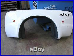 Ford F-350 Super Duty 99-04 Dually Drivers Left Rear Hip Fender with Liner, Lights