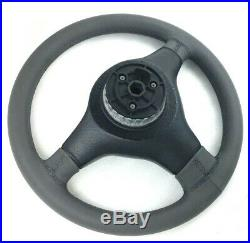 Genuine Ford Fiesta RS Turbo MK3 leather steering wheel. Retrimmed EXCELLENT! 3E