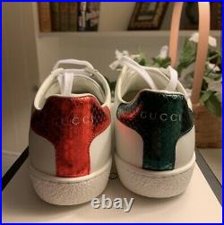 Gucci Acw Bee Sneakers Size 36.5 NWB
