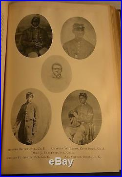 HISTORY of Fifty-Fourth A BRAVE BLACK REGIMENT 1894 Civil War African American