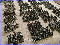 HUGE 15 mm ACW Confederate Army well-Painted