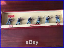 Herald Acw Federal Infantry Very Rare Boxed Set Of 6