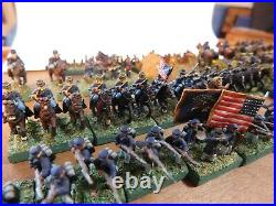 Heritage USA 15mm ACW, Painted Very Well, 8 Inf Rgmts, Cavalry and Artillery
