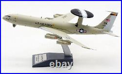 INFLIGHT 1200 US AIR FORCE Boeing 707-300 E-3B Diecast Aircarft Model 552ACW