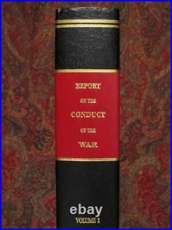 Joint Committee On The Conduct Of The War CIVIL War Brand New, Complete Set
