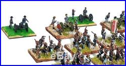 Large 15mm Confederate Army PAINTED ACW 37 Stands 201 Miniatures FNF BP JR3
