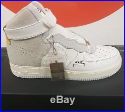 London Exclusive Nike Air Force 1 High A-Cold-Wall ACW UK 9.5 US 10.5 EU 44.5