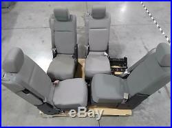 Lot of 4 Ford HC3B-25603B22-ACW Center Console Jump Seat F150 2017-2019 USED