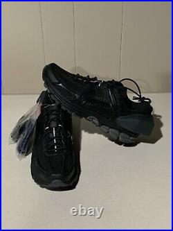 NEW NIKE ZOOM VOMERO 5 ACW A Cold Wall TRIPLE BLACK AT3152-001 Mens Size 7.5