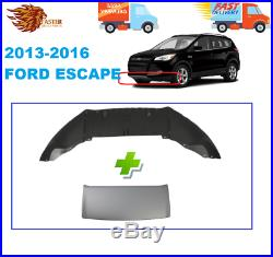 NEW Textured Black Front Bumper Lower Valance for 2013-2016 Ford Escape 13-16