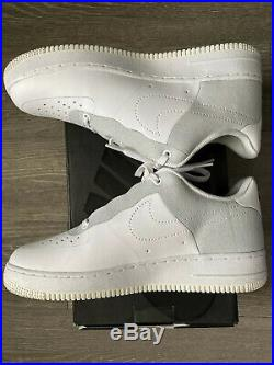 NIKE AIR FORCE 1 A COLD WALL ACW Size 8.5 Lightly Used