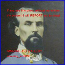 Nathan Bedford Forrest Lieutenant General American Civil War Confederate Army