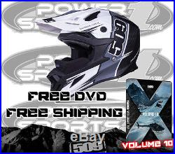 New 509 Altitude Carbon Fiber Snowmobile Helmet White Trace 2xl Free 509 DVD