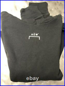 New A Cold Wall ACW Stone Grey Hoodie Size S