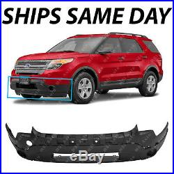 New Textured Front Lower Bumper For 2011-2015 Ford Explorer SUV Witho Fog 11-15