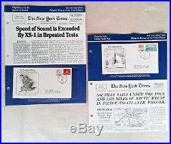 New York Times Philatelic History of the United States Volumes 1 and 2, RARE